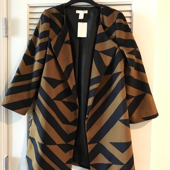 H&M Jackets & Blazers - Oversized lapel blazer jacket